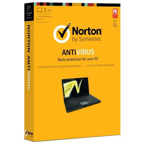 Norton antivirus basic base license 1usuario
